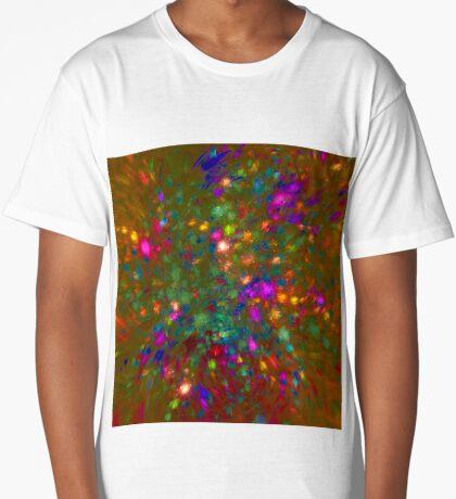 Autumn #fractal art Long T-Shirt
