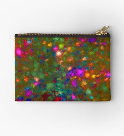 Autumn #fractal art Zipper Pouch