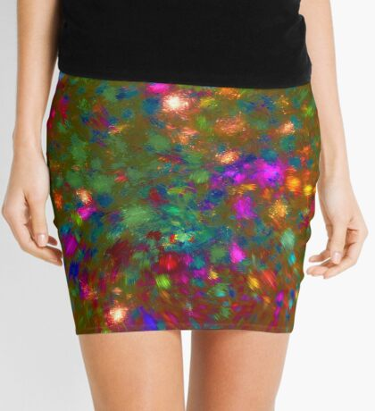 Autumn #fractal art Mini Skirt