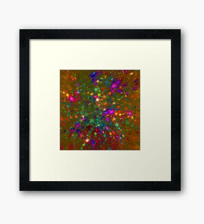 Autumn #fractal art Framed Print
