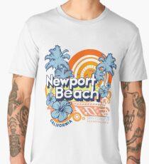 Newport Beach California Modern  Men's Premium T-Shirt