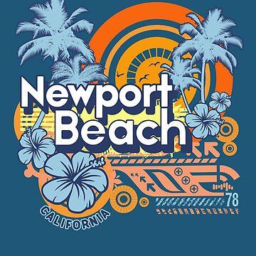 Newport Beach California Modern  by styleuniversal