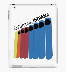 Columbus, IN Architecture iPad Case/Skin