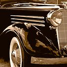 '34 Vauxhall BX Roadster by James Howe