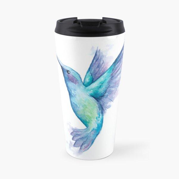 Hummingbird in Inks Travel Mug