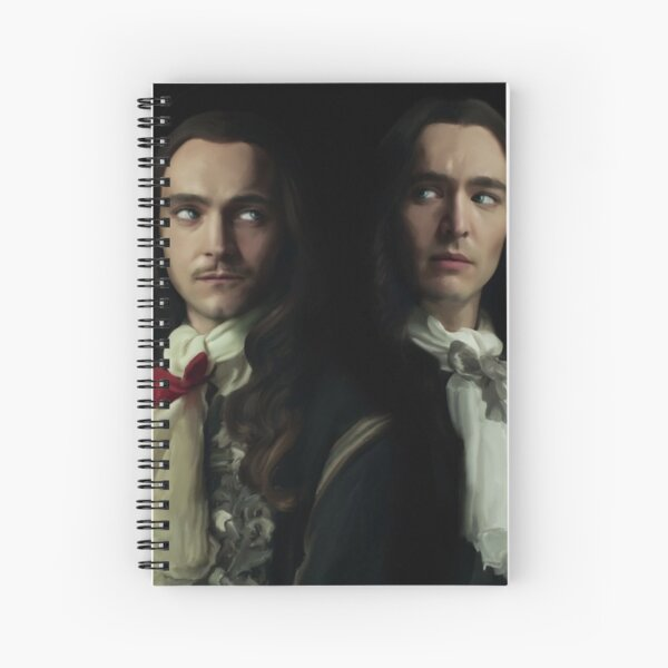 Louis and Philippe Spiral Notebook