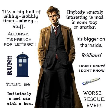 Dr. Who quotes by Sassenach616