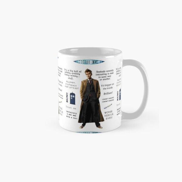 Dr. Who quotes Classic Mug