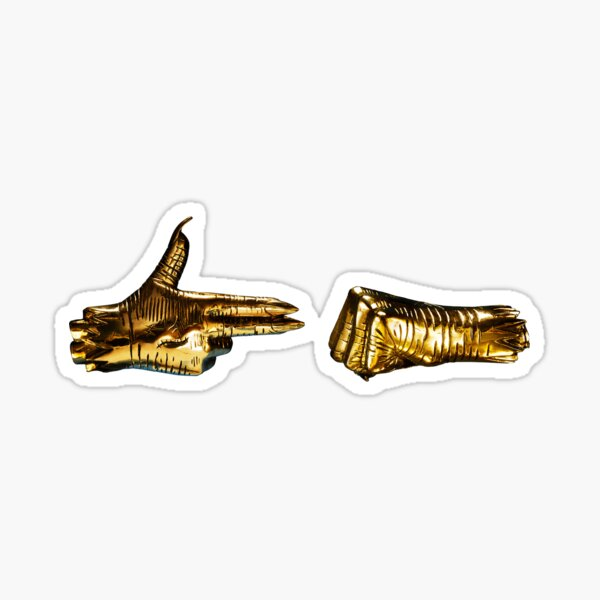 Run The Jewels - RTJ3 Sticker
