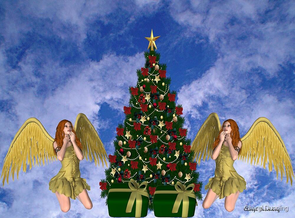 heavenly christmas by Cheryl Dunning