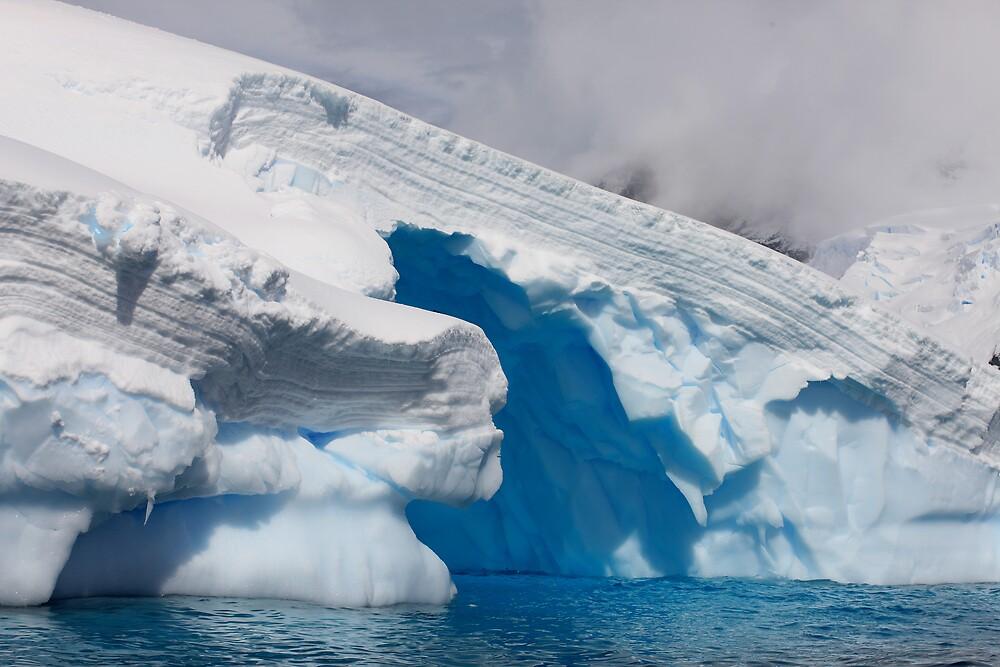 Ice Sculpture, Antarctic Peninsula by David Jamrozik