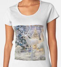 Snow Scene Women's Premium T-Shirt
