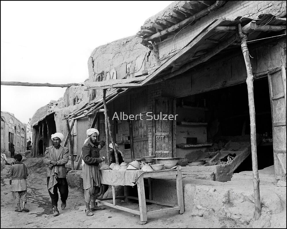Herat -Afghanistan Back Street 02 by Albert Sulzer