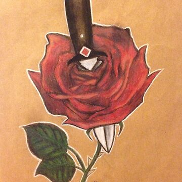 rose and dagger by 17styles