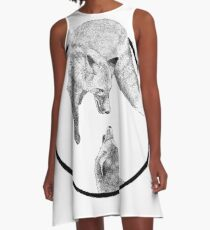 The Fox Playing A-Line Dress