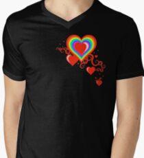 squiggle rainbow hearts T-Shirt