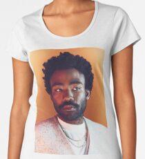 Gambino Tears - Donald Glover Print Women's Premium T-Shirt