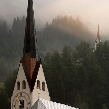 Swiss Church Spires by janemcdougall