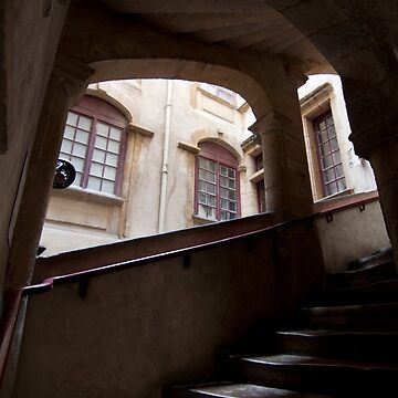 Window Light Stone Stairs by janemcdougall
