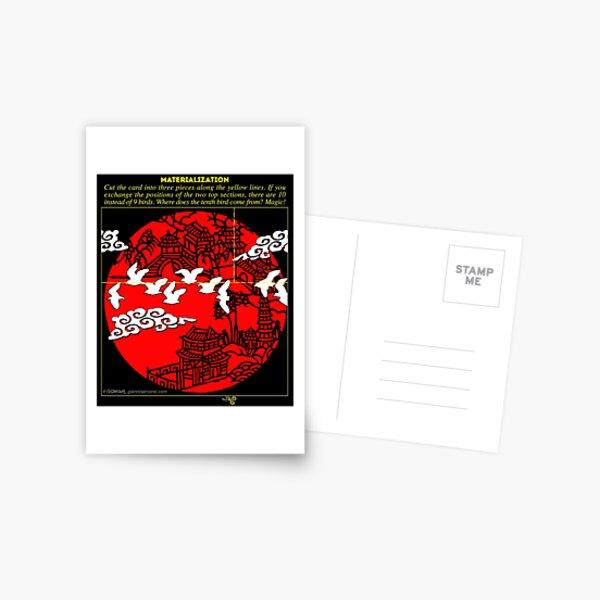 Magic Materialization Postcard
