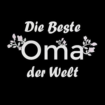 Die beste Oma der Welt by DRESS-LUST