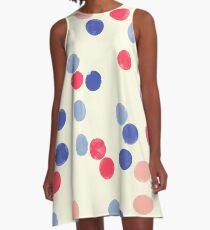 Watercolor Confetti A-Line Dress