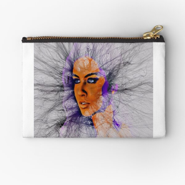 Look into My Eyes by M.A Zipper Pouch