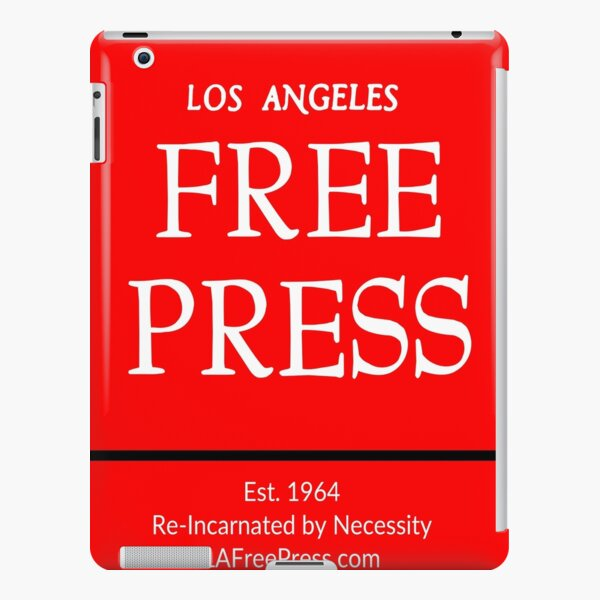Los Angeles Free Press iPad In Red Logo iPad Snap Case