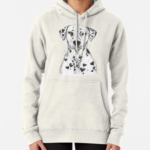 Dalmatian Pullover Hoodie