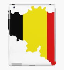 belgium map iPad Case/Skin