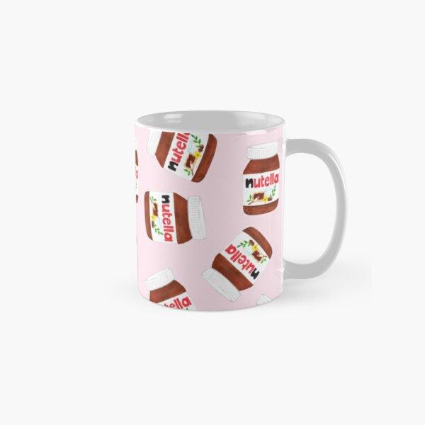 Nutella Forever - Scatter - Pink Classic Mug