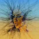 Look Into My Eyes Sky by Beechhousemedia