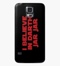 Darth Jar Jar (red, bold) Case/Skin for Samsung Galaxy
