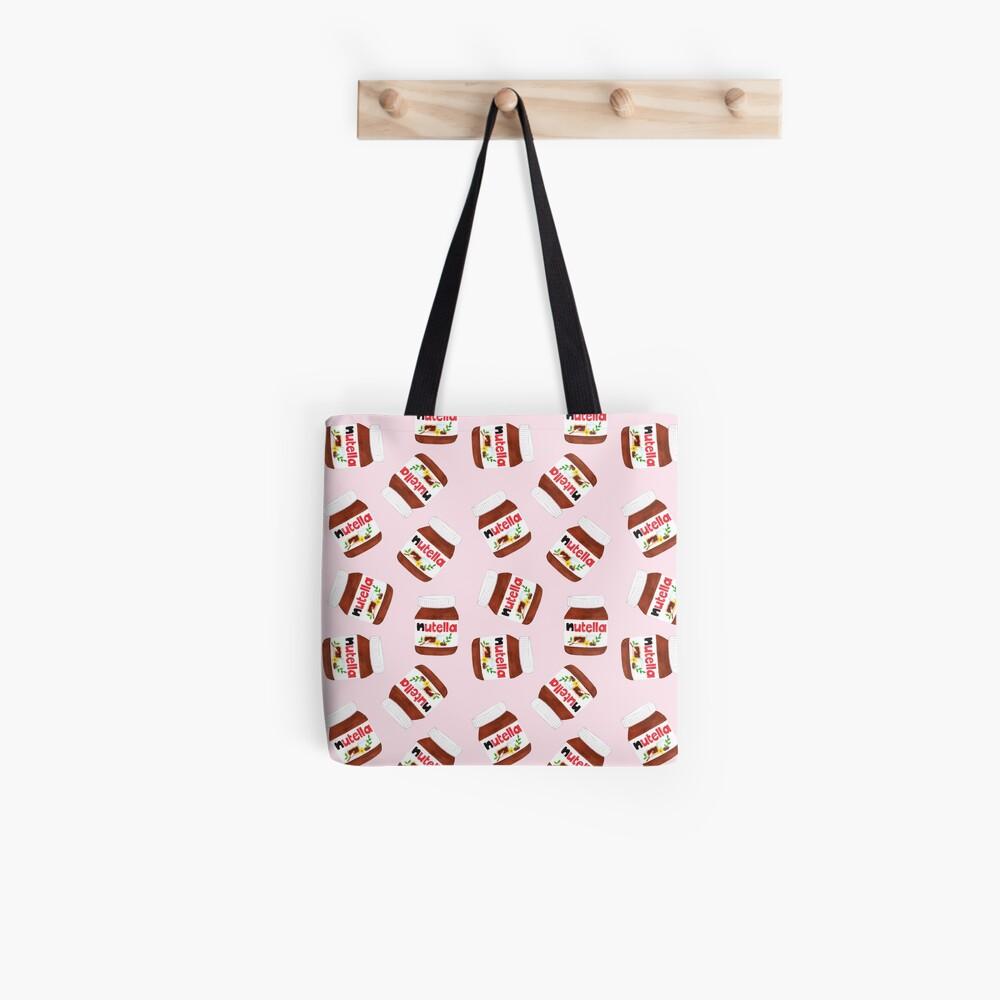 Nutella Forever - Scatter - Pink Tote Bag