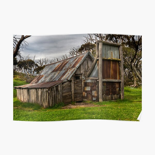 Wallace Hut Poster