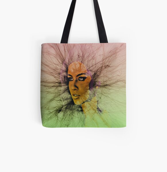 Look Into My Eyes Fresh All Over Print Tote Bag