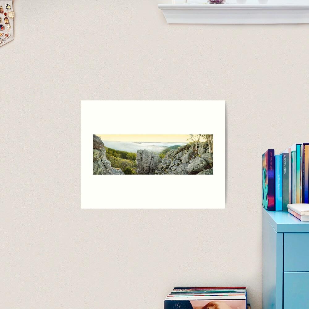 Mount Macedon Dawn, Victoria, Australia Art Print