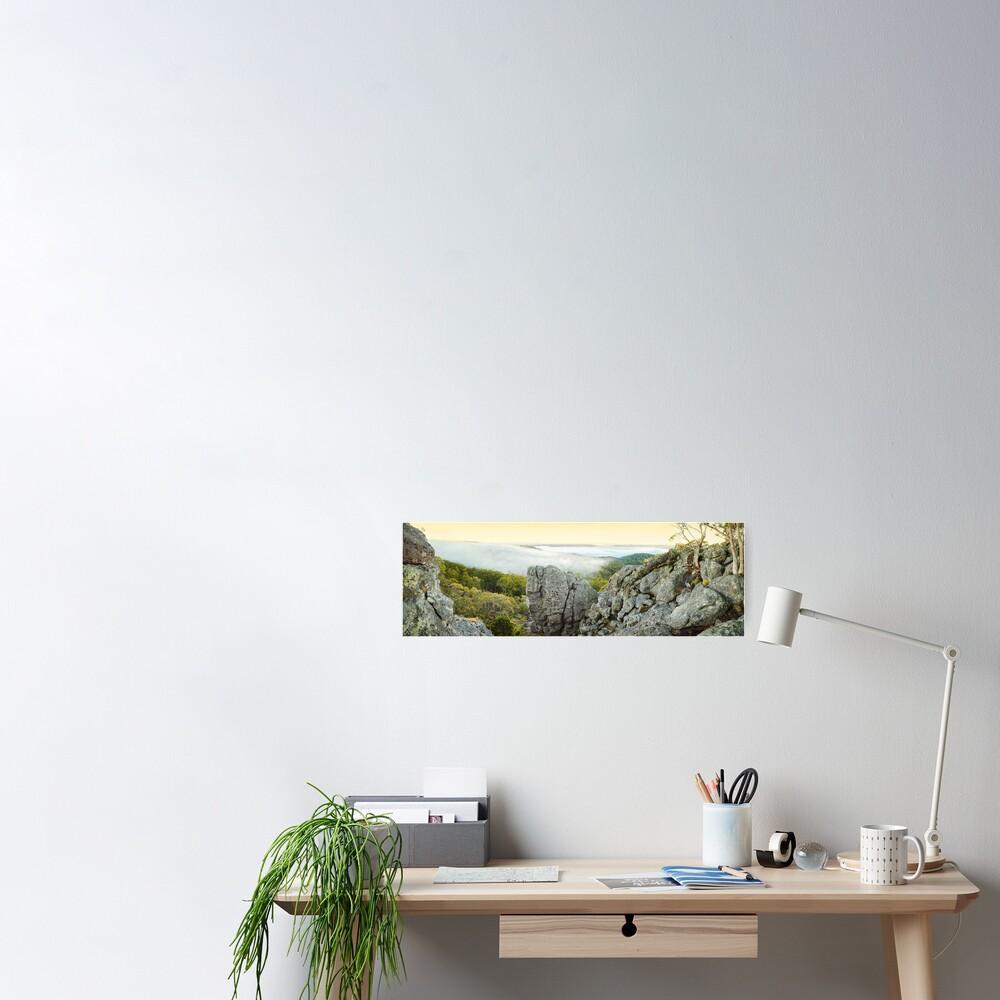 Mount Macedon Dawn, Victoria, Australia Poster