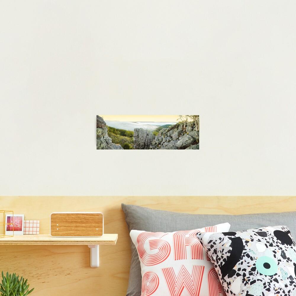 Mount Macedon Dawn, Victoria, Australia Photographic Print