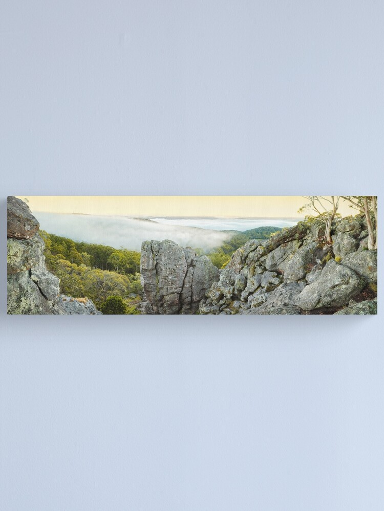 Alternate view of Mount Macedon Dawn, Victoria, Australia Canvas Print