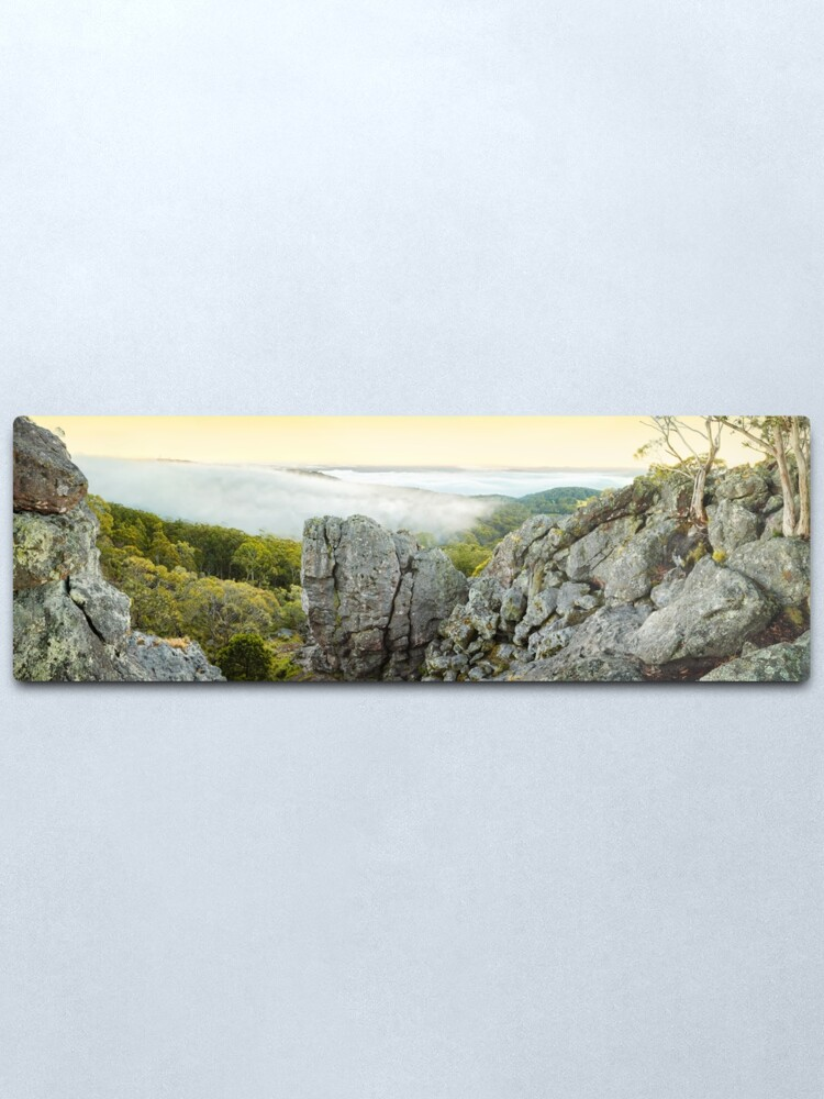 Alternate view of Mount Macedon Dawn, Victoria, Australia Metal Print