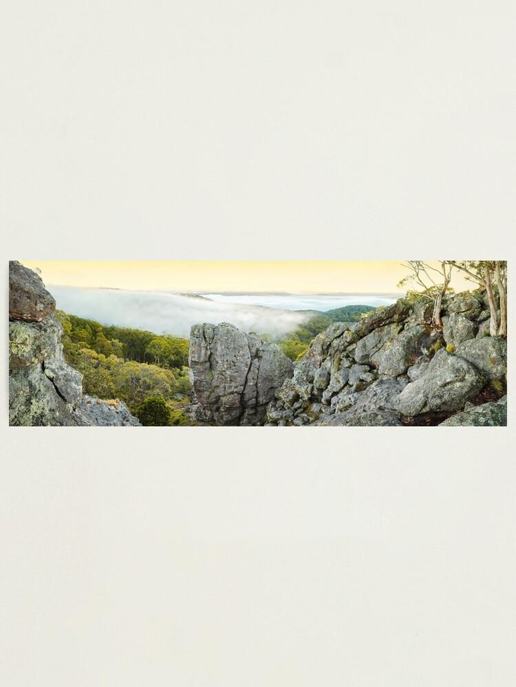Alternate view of Mount Macedon Dawn, Victoria, Australia Photographic Print