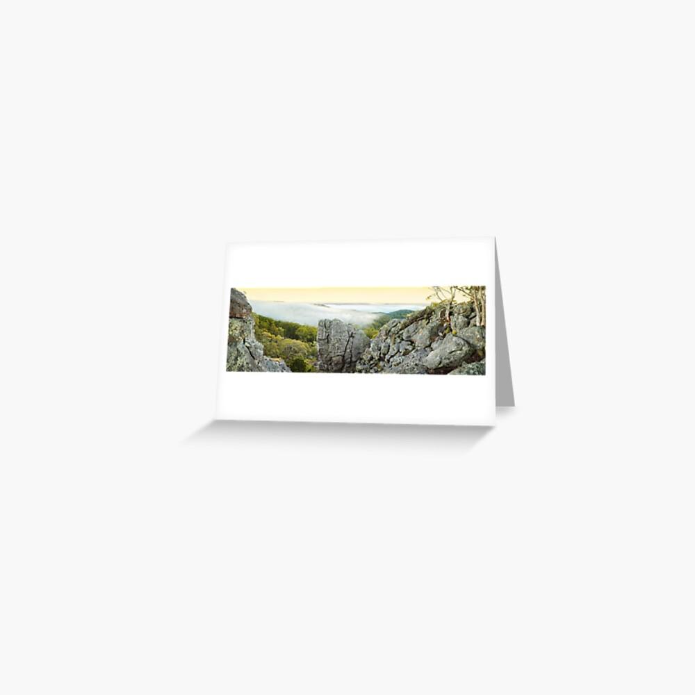 Mount Macedon Dawn, Victoria, Australia Greeting Card
