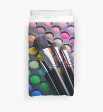 eye brush Duvet Cover