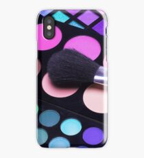 eye brush iPhone Case/Skin