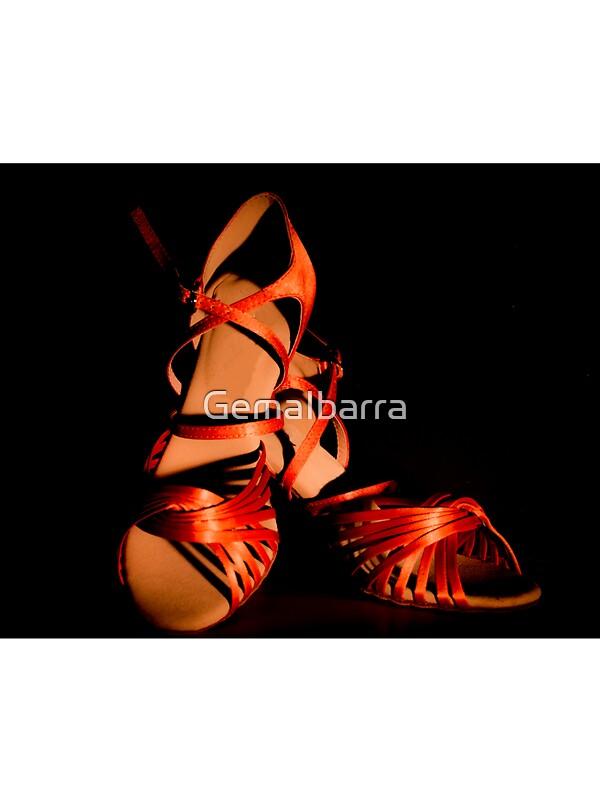 Latin Dance Shoes Sticker