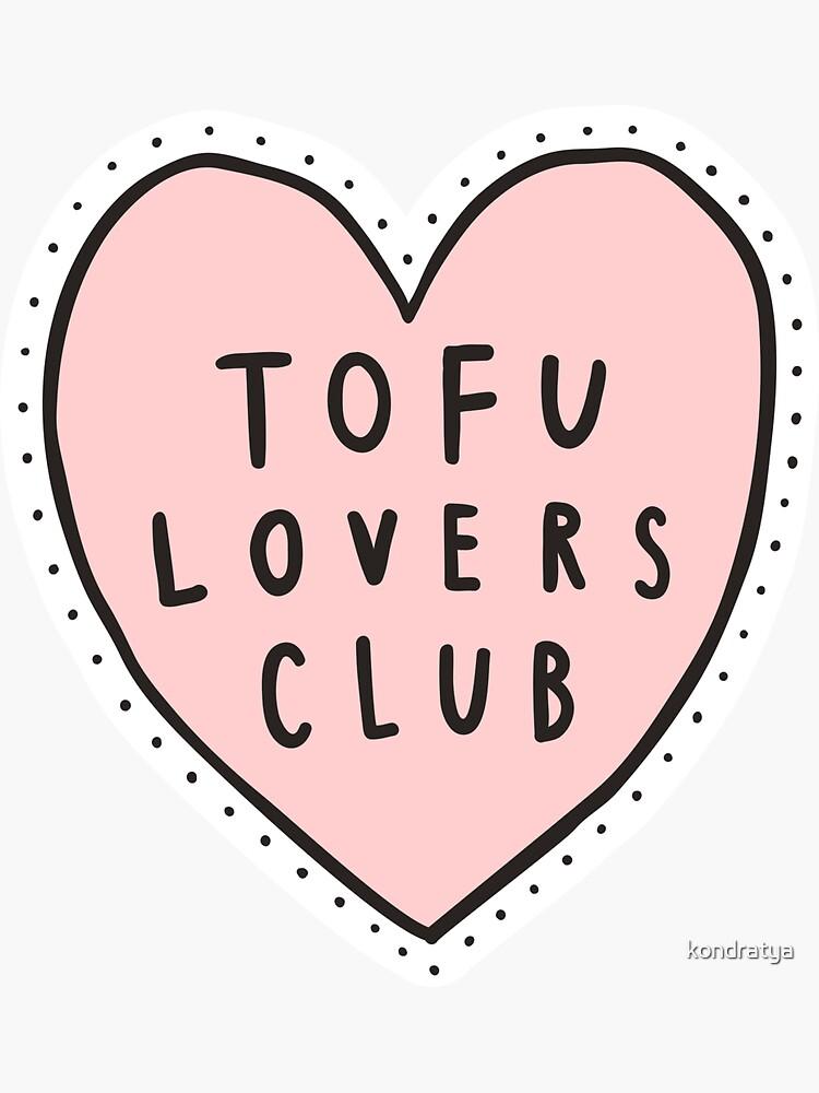 Tofu lovers club by kondratya