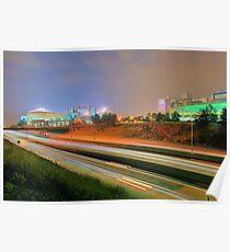 Carolina Panthers Football Stadium Poster