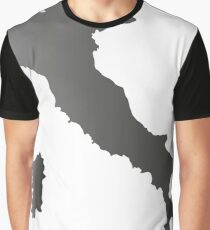 Italy map Graphic T-Shirt