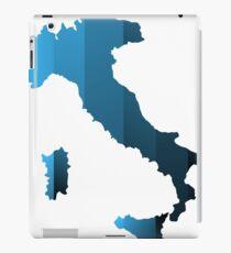 Italy map iPad Case/Skin